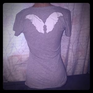 Victoria's Secret angel wings tshirt size Small